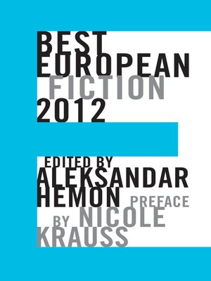 cover image of Best European Fiction 2012