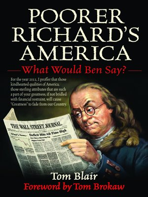 cover image of Poorer Richard's America