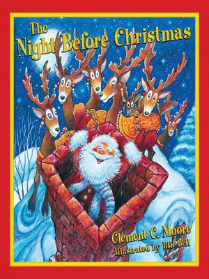cover image of The Night Before Christmas