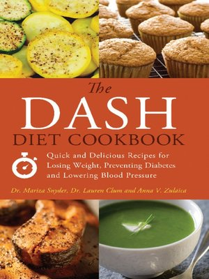 cover image of The DASH Diet Cookbook
