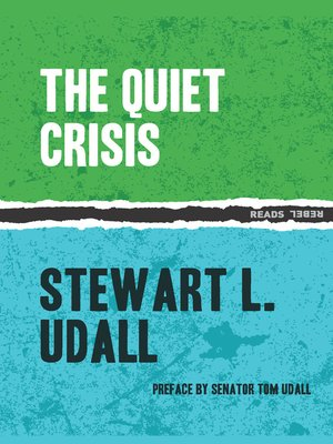cover image of The Quiet Crisis