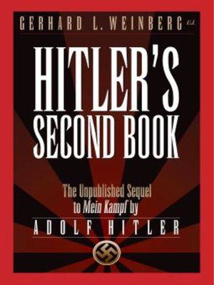 cover image of Hitler's Second Book