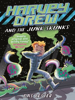 cover image of Harvey Drew and the Junk Skunks