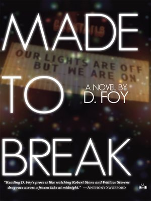 cover image of Made to Break