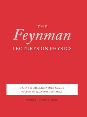 cover image of The Feynman Lectures on Physics, Volume 3