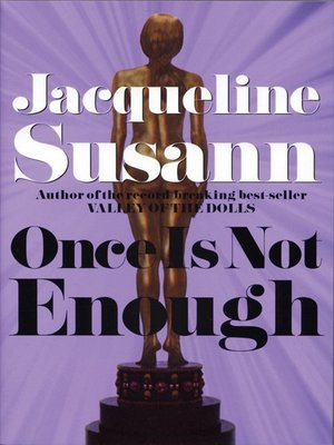 cover image of Once Is Not Enough