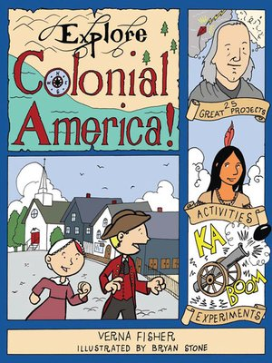 cover image of Explore Colonial America!