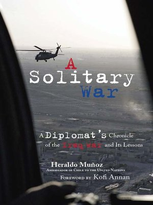 cover image of A Solitary War