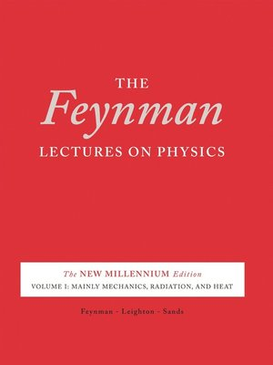 cover image of The Feynman Lectures on Physics, Volume 1