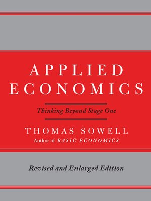 cover image of Applied Economics