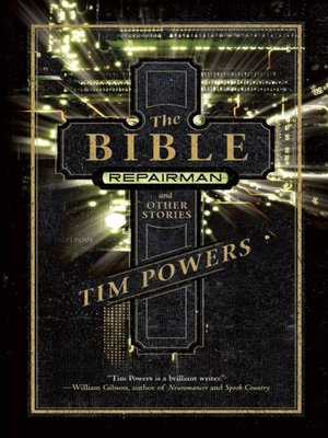 cover image of The Bible Repairman and Other Stories