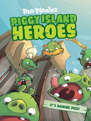 cover image of Piggy Island Heroes