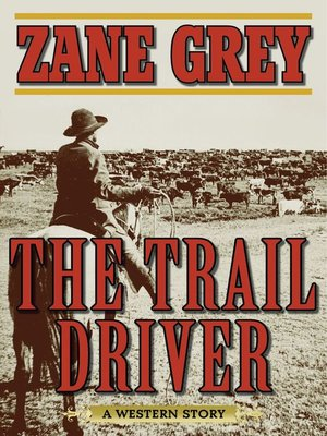 cover image of The Trail Driver