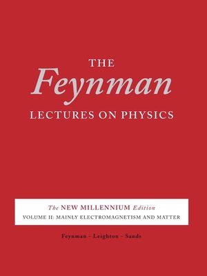 cover image of The Feynman Lectures on Physics, Volume 2 for tablets