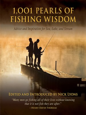 cover image of 1,001 Pearls of Fishing Wisdom