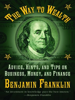 benjamin franklin the way to wealth pdf