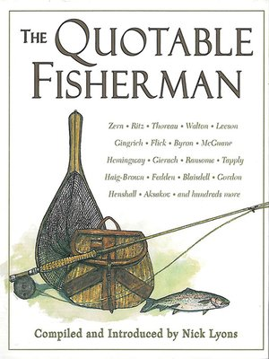 cover image of The Quotable Fisherman