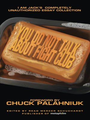 cover image of You Do Not Talk About Fight Club