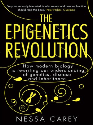 cover image of The Epigenetics Revolution