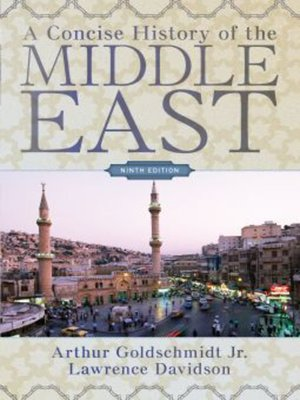 cover image of A Concise History of the Middle East