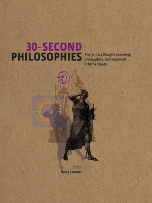cover image of 30-Second Philosophies