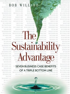 cover image of The Sustainability Advantage