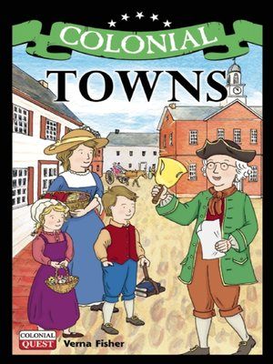 cover image of Colonial Towns