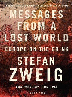 cover image of Messages from a Lost World