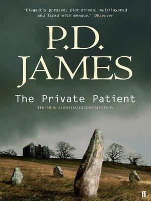 The Private Patient (Inspector Adam Dalgliesh Book 14)