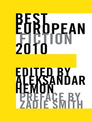 cover image of Best European Fiction 2010