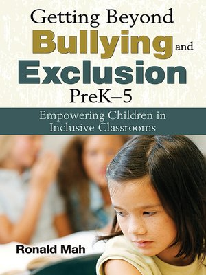 cover image of Getting Beyond Bullying and Exclusion, PreK-5