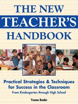 cover image of The New Teacher's Handbook