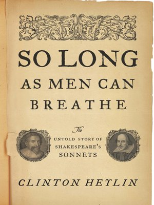 cover image of So Long as Men Can Breathe