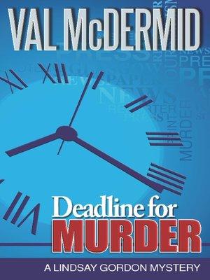 cover image of Deadline for Murder