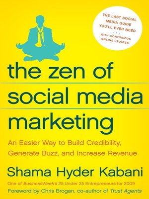 cover image of The Zen of Social Media Marketing
