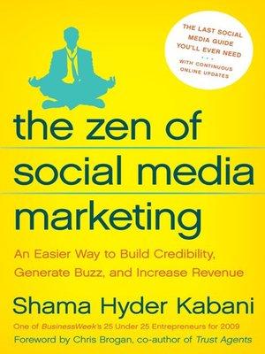 cover image of The Zen of Social Media Marketing
