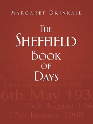 cover image of The Sheffield Book of Days