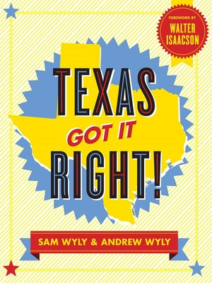 cover image of Texas Got It Right!