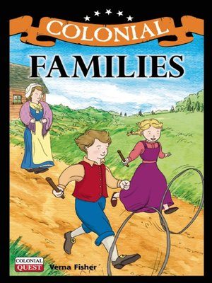 cover image of Colonial Families