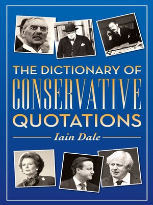 cover image of The Dictionary of Conservative Quotations