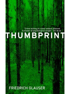 cover image of Thumbprint