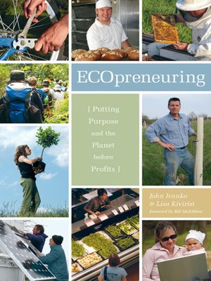 cover image of Ecopreneuring