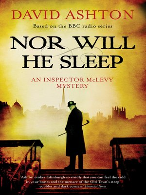cover image of Nor Will He Sleep