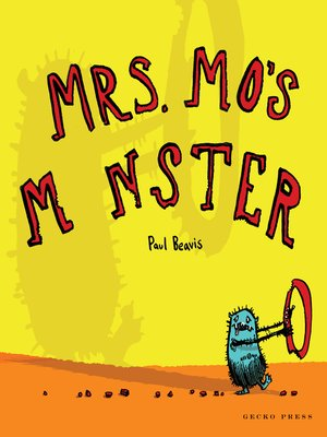 cover image of Mrs Mo's Monster