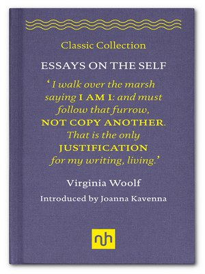 cover image of Essays on the Self
