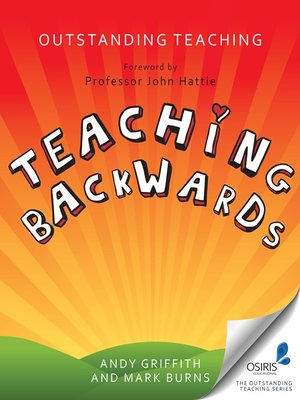 cover image of Teaching Backwards