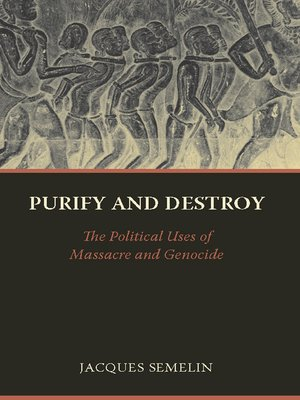 cover image of Purify and Destroy