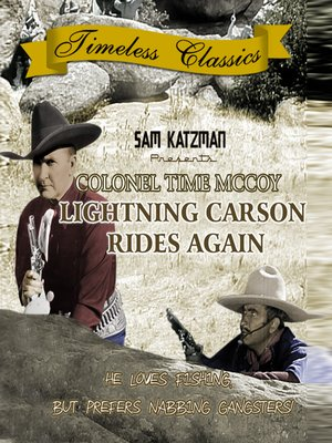 cover image of Lightning Carson Rides Again