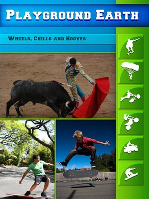 cover image of Playground Earth, Wheels, Chills and Hooves