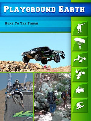 cover image of Playground Earth, Hunt To The Finish